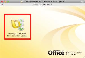 (02) Entourage 2008, Web Services Edition Update
