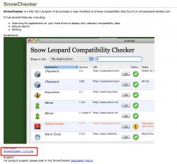 (01) Snow Leopard Compatibility_ SnowChecker