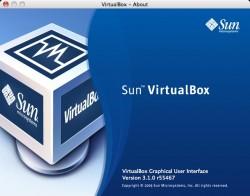 VirtualBox - About