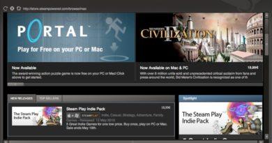 Uvedení Steamu na Mac v roce 2010