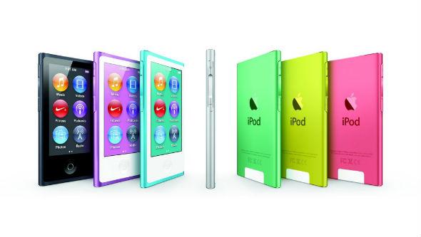 Poslední sedmá generace se pak přiblížila iPodu touch