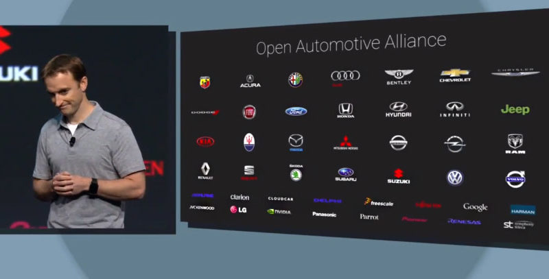 OAA, Open Automotive Alliance, I/O, Google