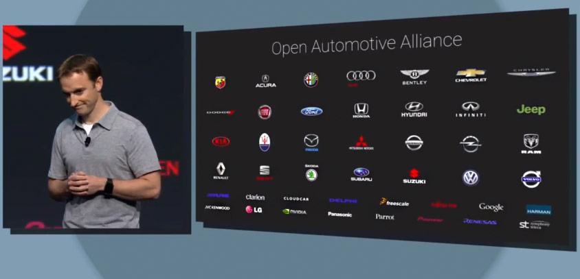 OAA, Open Automotive Alliance, I/O, Google