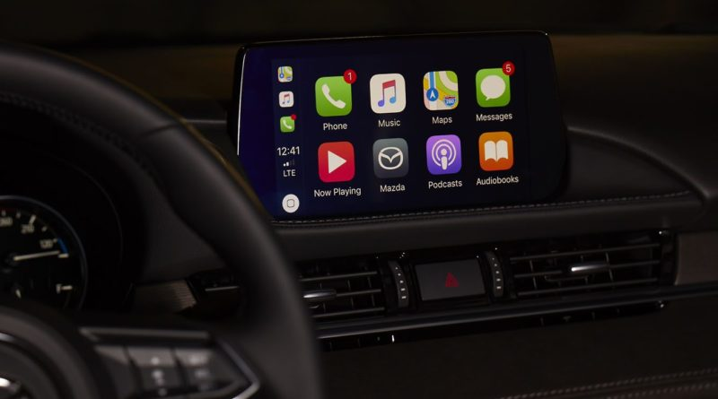 CarPlay v Mazda