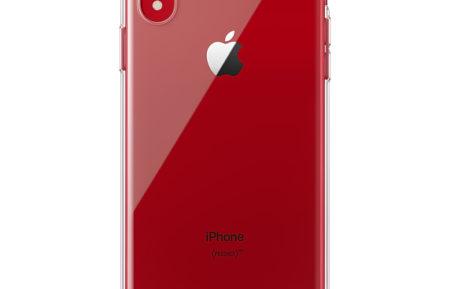 Průhledný kryt pro iPhone XR