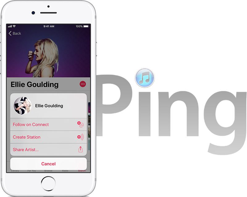 Apple Music Connect - stejný osud jako Ping?