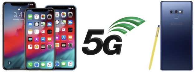 iPhone 5G síť a Samsung Note