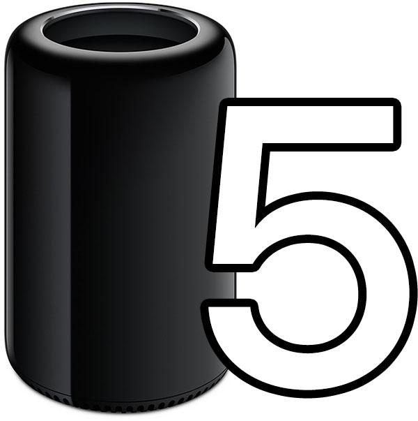 Mac Pro 5 let bez aktualizace