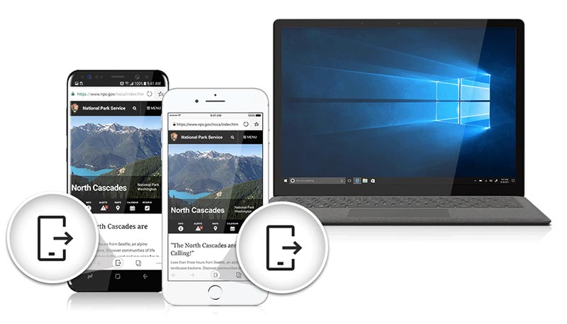 Microsoft Edge na iOS, Android, Windows i Mac