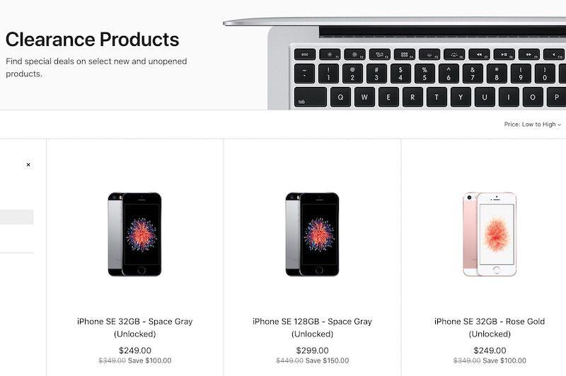 iPhone SE ve výprodeji