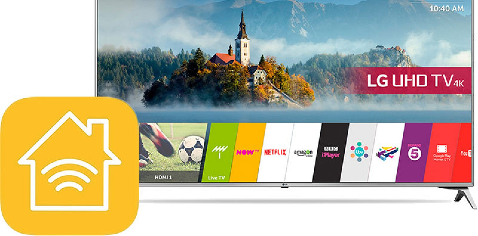 LG Smart TV s podporou AirPlay 2 a HomeKit