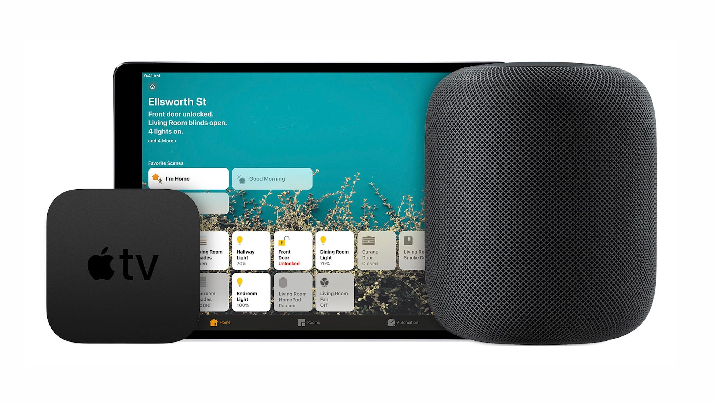 Apple TV a HomePod