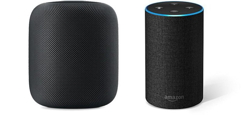HomePod versus Amazon Echo