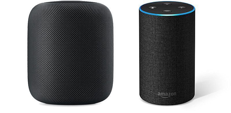 HomePod versus Amazon Echo