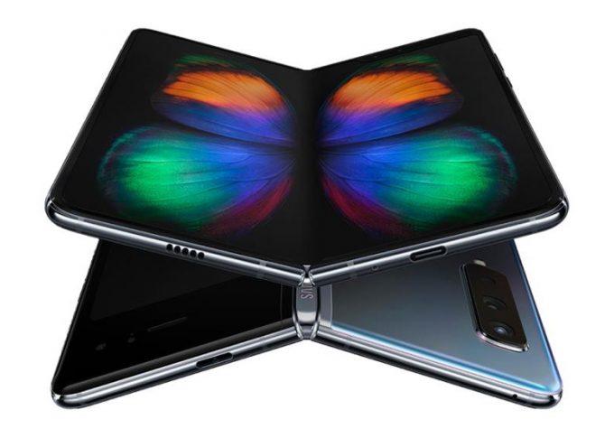 Samsung Galax Fold - ohebný telefon