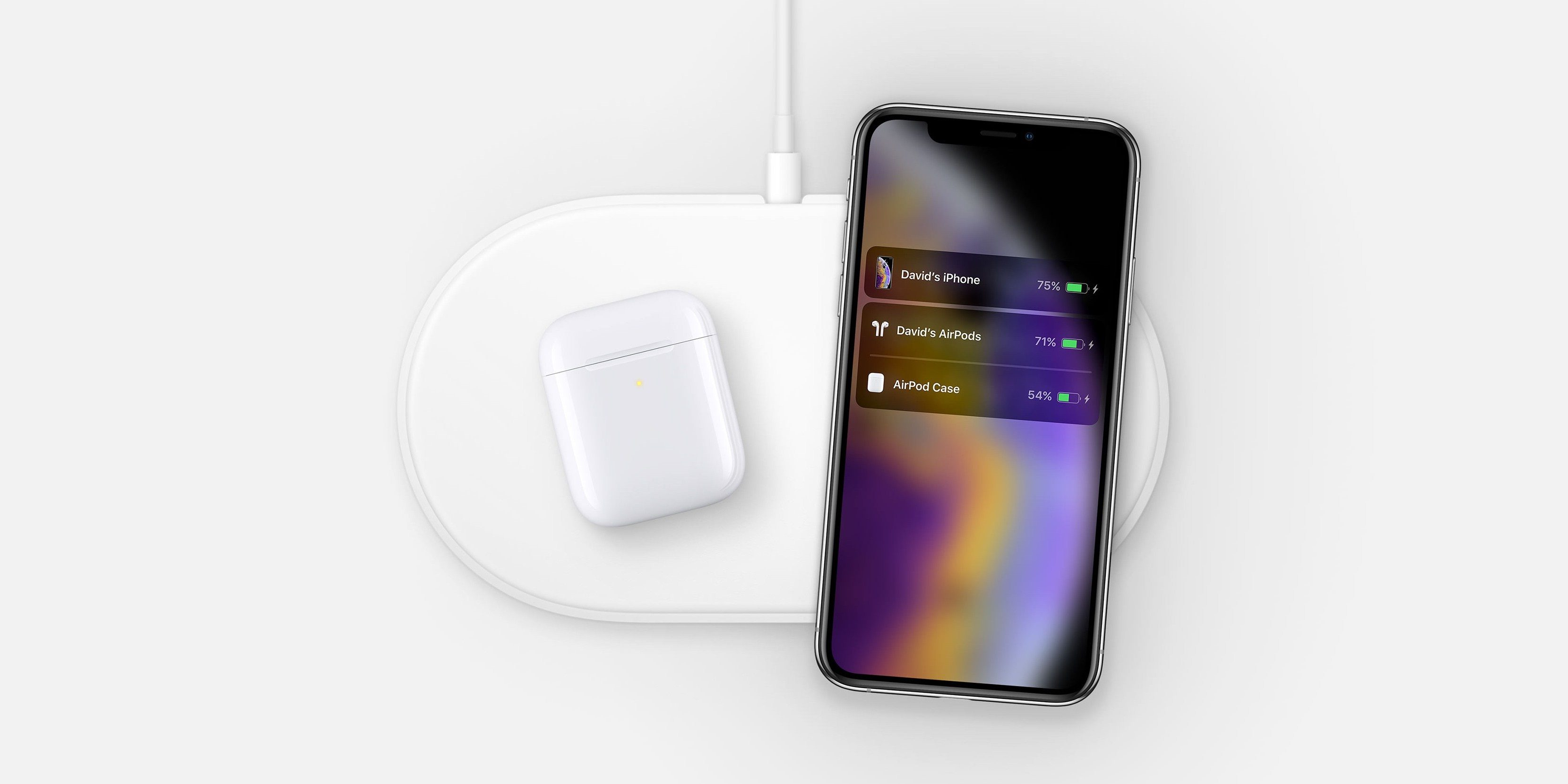 AirPower s AirPods a iPhonem XS