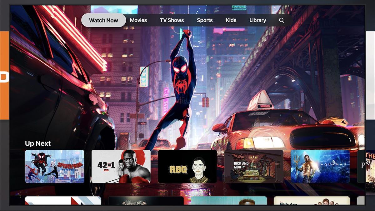 Nová aplikace TV