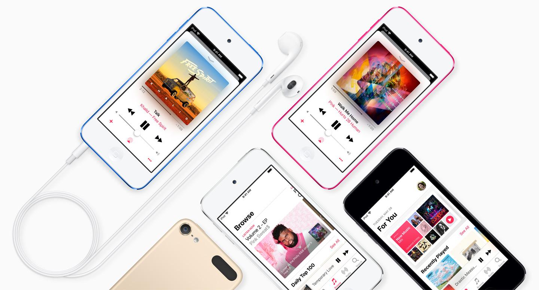 iPod Touch sedmé generace nerozeznáte od té předchozí