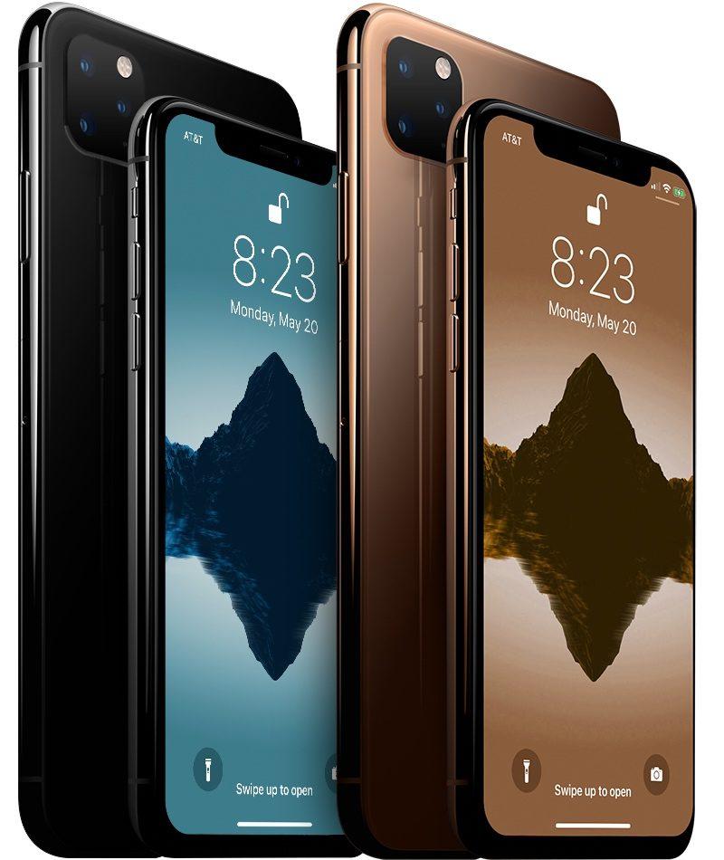 Letošní iPhony by měly dle všech dostupných informací mít také čtvercový výstupek na kamerky