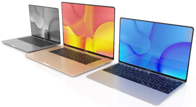 Apple chystá nové MacBooky se změněným designem. Některé modely zřejmě zůstanou u Intel procesorů