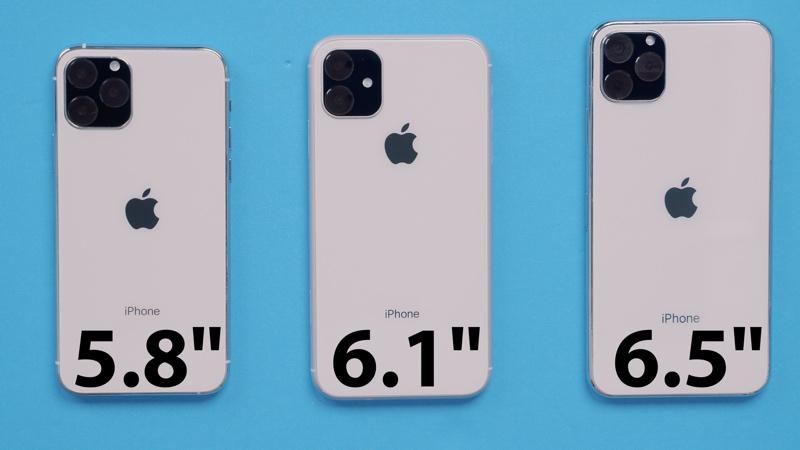 Odhadovaná podoba iPhonů 11 Pro