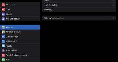 Klávesnice iPadOS
