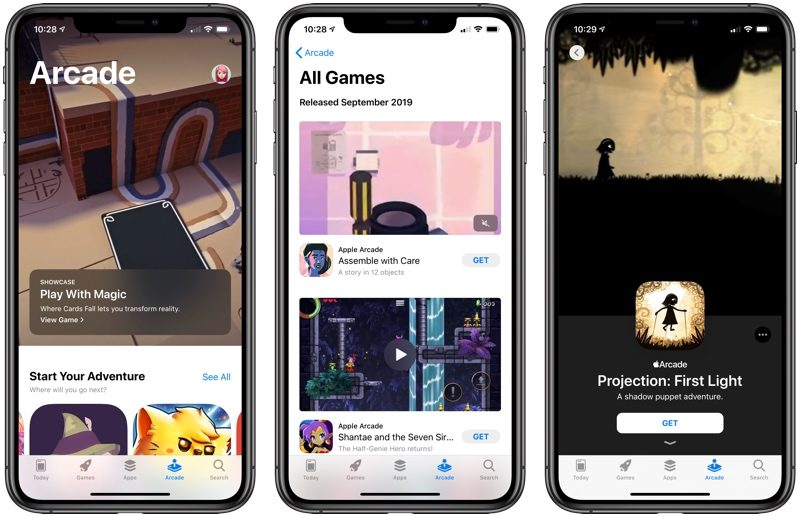 Apple Arcade iOS 13