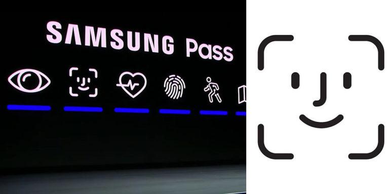 Samsung pro prezentaci funkce Samsung Pass bez okolků zkopíroval ikonu Face ID
