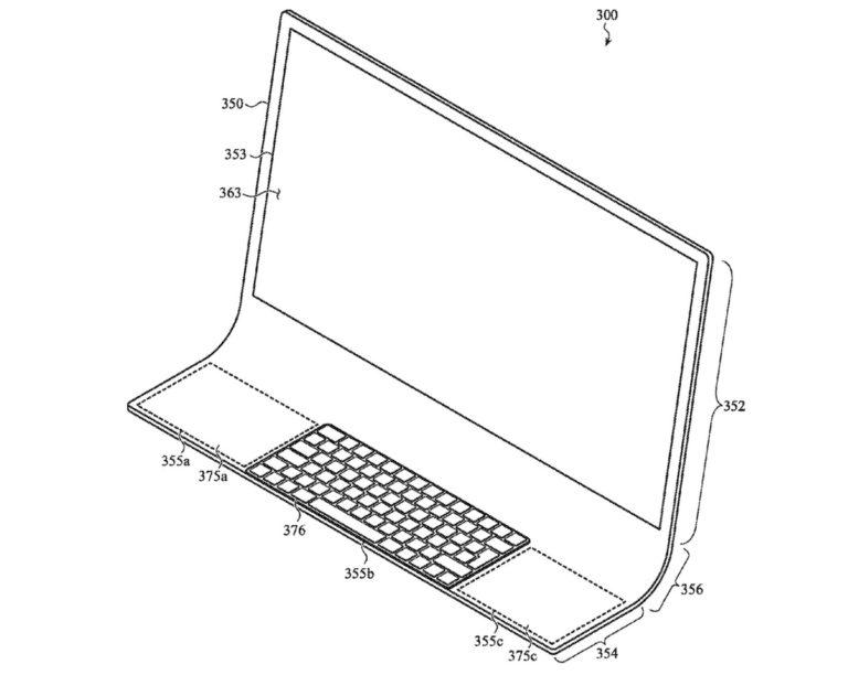 Nový patent Applu představuje iMac vyrobený z jednoho kusu skla