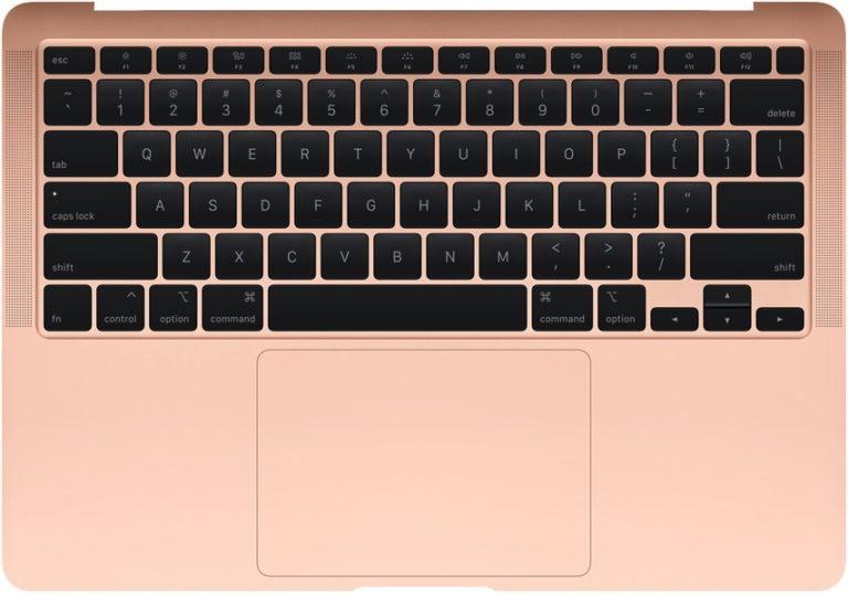 MacBook Air s novou klávesnicí, ale stejnými nedostatky