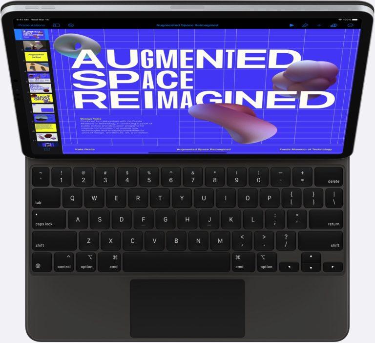Apple chce přinést klávesové zkratky pro změnu jasu v iPadOS. Uživatelé musí zatím spoléhat na dotekové ovládání