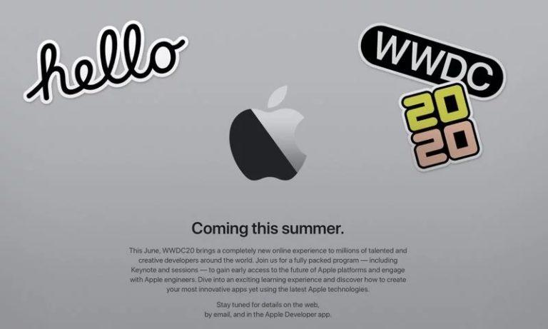 Letošní vývojářská konference WWDC 2020 bude formou online přenosu