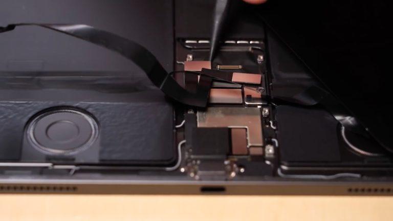 Rozebraný iPad Pro 2020. Minimum změn a špatná opravitelnost