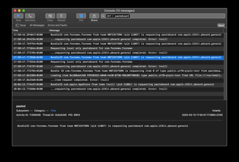 Oblíbené aplikace jako TikTok čtou informace v systémové schránce iOS. Mají k ní neomezený přístup