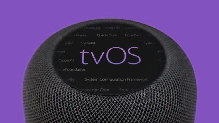 Operační systém HomePodu je nově založen na tvOS. V kódu jsou reference na dva nové modely chytrého reproduktoru