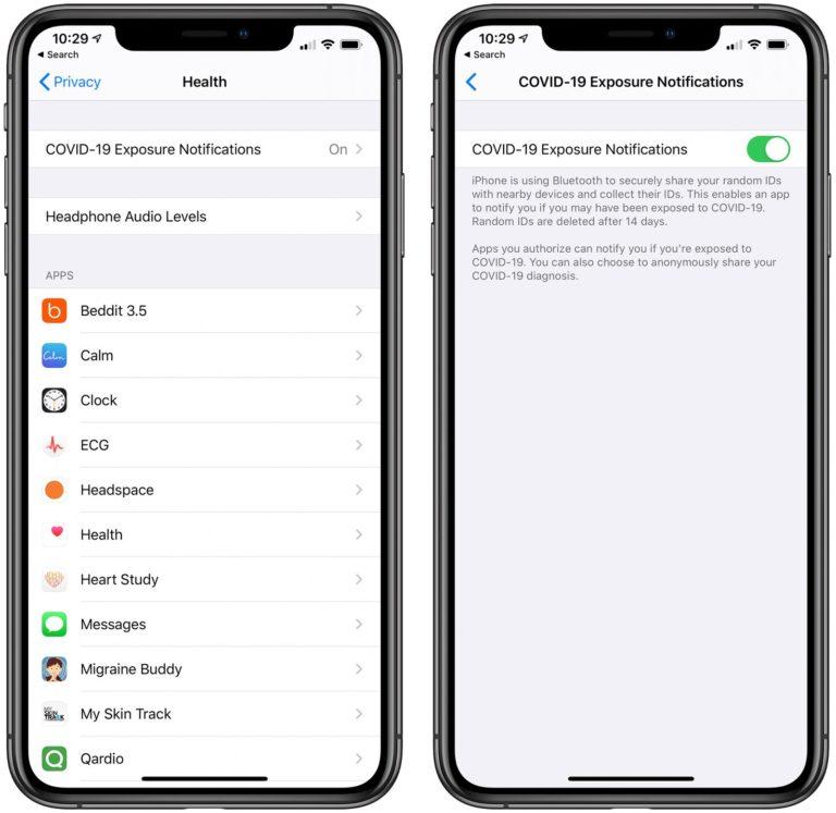 Novinky v iOS 13.5 – Sledování nakažených koronavirem a odemykání Face ID s maskou