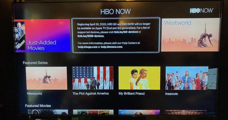 Majitelé starších Apple TV zaznamenávají potíže s aplikací YouTube. HBO zruší podporu ke konci dubna