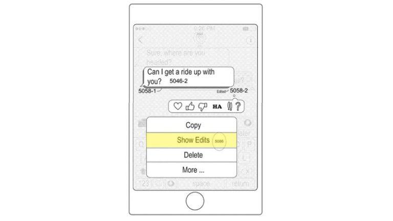 Odeslané zprávy iMessage půjde upravit po odeslání. Prozradil to nejnovější patent