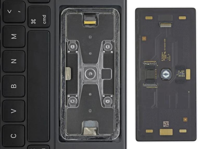 Trackpad z Magic Keyboard je jediná snadno vyměnitelná součástka