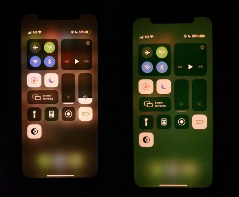 Uživatelé iPhonů 11 mají problémy se zelenající obrazovkou