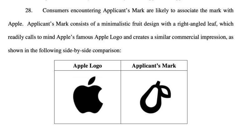 Apple žaluje malou společnost kvůli podobnému logu. Prepear používá zelenou hrušku