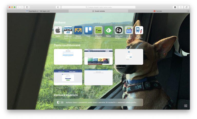 Apple vydal Safari 14 ještě před samotným operačním systémem macOS 11 Big Sur. Dostupné je pro Mojave i Catalinu