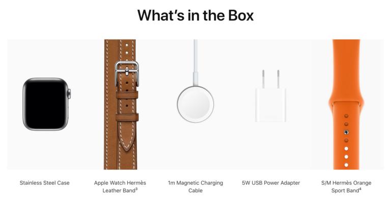 Některé Apple Watch Series 6 neobsahují v balení 5 W adaptér. Magnetický kabel má stále koncovku USB-A
