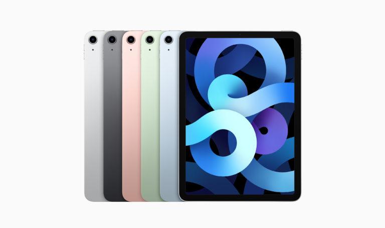 """Apple představil nový iPad Air s 10,9"""" obrazovkou, A14 Bionic, USB-C a Touch ID v zapínacím tlačítku"""