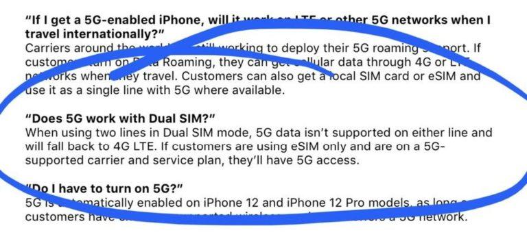 Sítě 5G nebudou na iPhonech 12 podporovány v režimu dual SIM
