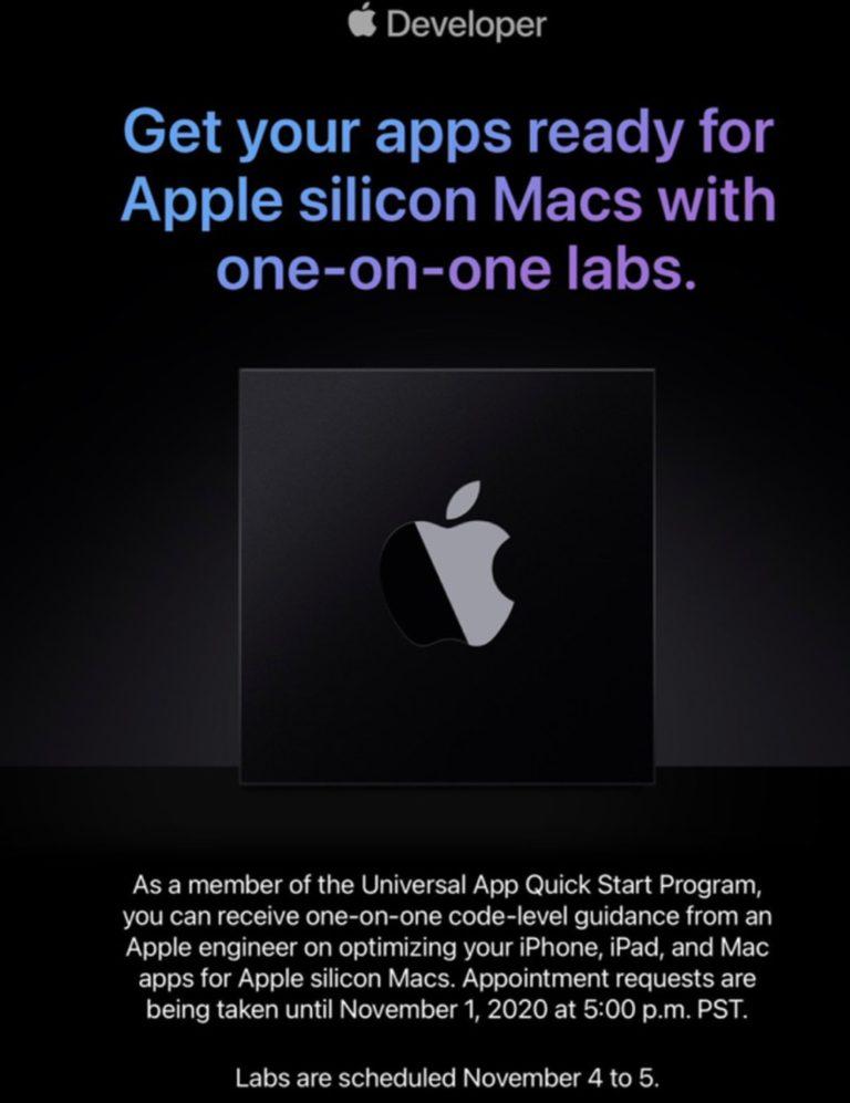 Apple nabízí vývojářům pomocnou ruku při vývoji ARM aplikací pro Mac. Nové počítače se blíží