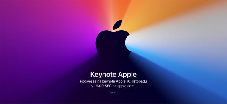 Už 10. listopadu se dozvíme, které počítače Mac dostanou jako první Apple Silicon
