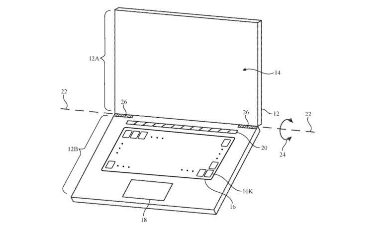 Klávesy s obrazovkami místo popisků. Nový patent Applu