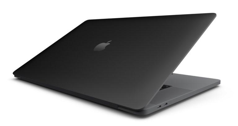 Apple připravuje matnou černou povrchovou úpravu pro MacBooky a další produkty