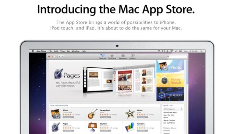 Mac App Store slaví 10. výročí. Přišel s aktualizací tehdy oblíbeného Mac OS X Snow Leopard